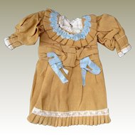 Dolls dress suitable for French or German doll