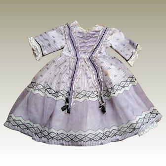 Dolls dress - Hand Made 13 inches shoulder to hem