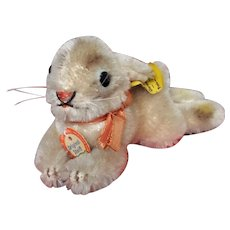 Steiff Lying Rabbit with all ID
