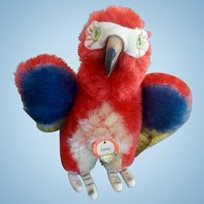 Steiff Lora Parrot with all ID