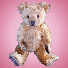 Chiltern  teddy bear 1930's English 16 inch