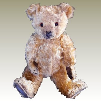 Chiltern  teddy bear 1930's English 16 inch