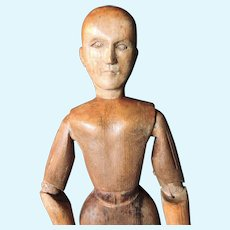 Wooden Lay Figure 19 Century French