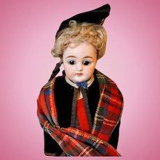 "Closed Mouth Simon and Halbig 950 ""Scottish"" doll all original"