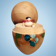 Smallest doll in the world - Jointed wooden