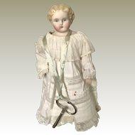 Antique Parian Head Walking Doll - Autoperipatetikos