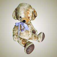 Large Merrythought Art Silk Cheeky Bear