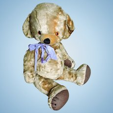Large Merrythought Art Silk Cheeky Bear