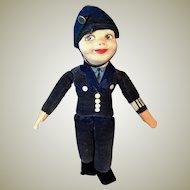 Nora Wellings Mascot Policeman doll