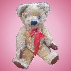 Chad Valley Golden Mohair Teddy Bear c.1950's