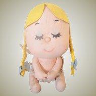 Lenci Felt Angel doll with label