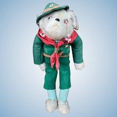 Rare Schuco Bigo Bello Dog Scout