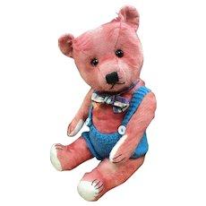 1950's Pink Musical Chiltern bear