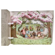 Peeps into Fairyland - Pop up  Panorama Picture Book - Nister book 633.