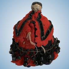 A Grodnerthal pen-wipe dolls' house doll