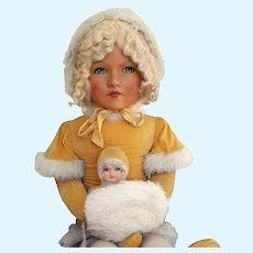 Deans Rag Book- Miss Muffet dolls 1933