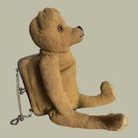 German Teddy Bear Purse c.1920