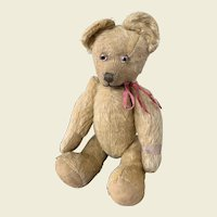 Early English pin jointed teddy bear
