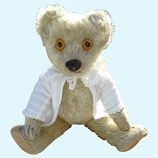 Cabinet sized Moon eyed Chad Valley bear 1920's