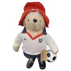 Paddington Bear Gabrielle Designs Footballer