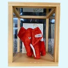 Steiff Limited Edition Red Elephant