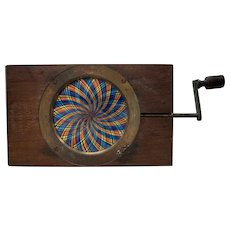 Mechanical Magic Lantern Slide Kaleidoscope