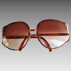 28c01736d7 Christian Dior 2250 Trendy 2250 Designer Sunglasses Gradient XL Lenses Made  In Austria. The Vintage Cornucopia