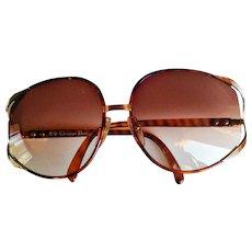 Christian Dior 2250 Trendy 2250 Designer Sunglasses Gradient XL Lenses Made In Austria