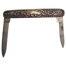 Vintage Sterling pen or fruit knife