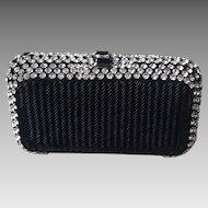 Beautiful black beaded purse