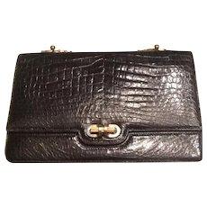 Vintage Alligator clutch handbag