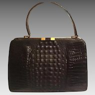 Vintage Hornback Alligator bag