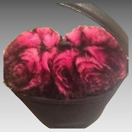 Unusual Fur Flower handbag