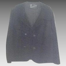 Vintage black Broadtail jacket