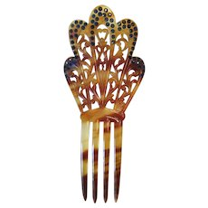 Beautiful vintage hair comb