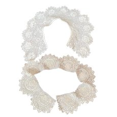 Beautiful Croceted Lace Collars