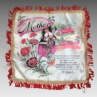 Vintage Souvenir Mother Pillowcase