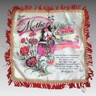 Vintage Souvenir Mother Pillowcase