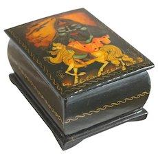 """""""Russlan and Ludmilla"""" Russian Lacquer Box"""