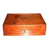 1874 American Rosewood Lap Desk
