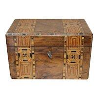 19th Century English Tea Caddy Box