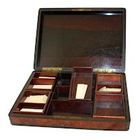 19th Century Napoleon III Games Box