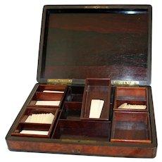 19th Century Napoleon III Games Box