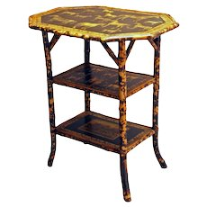 3-tier Bamboo Side Table