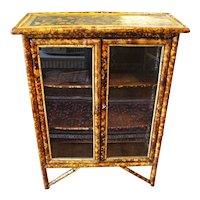 2-Door Bamboo Cabinet