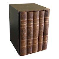 Cased Set of Montaigne Essays