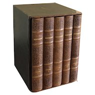 Cased Set of Montaigne Essays