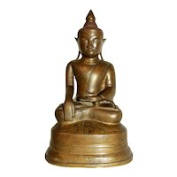 Early 20th Century Bronze Buddha Sculpture