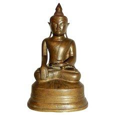 Early 20th Century Bronze Buddha Sculpture