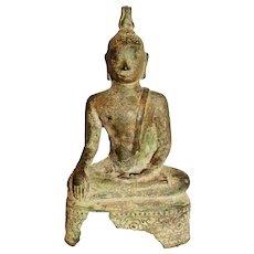 18th-19th Century Bronze Buddha Sculpture